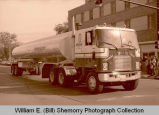 Williston's 25th Anniversary of Oil Discovery Celebration, Herman Oil Co. truck, N.D.