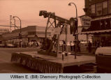 Williston's 25th Anniversary of Oil Discovery Celebration, G & O Well #1 float, N.D.