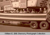 Williston's 25th Anniversary of Oil Discovery Celebration, parade dignitaries, N.D.