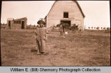 Boy on farm, N.D.