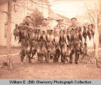 Hunters with pheasants, Williston, N.D.