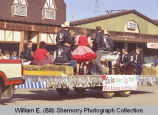 Tioga Farm Festival 1984, square dancing float, N.D.