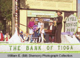 Tioga Farm Festival 1984, The Bank of Tioga float, N.D.