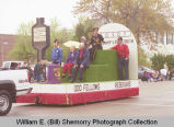 Band Day parade 1998, Odd Fellows & Rebekahs float, N.D.