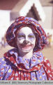 Tioga Farm Festival 1980, clown, N.D.