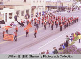 Band Day parade 1981, Williston High School Freshman Band, Williston, N.D.