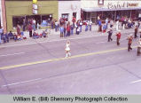 Band Day parade 1981, Buffalo Trails Band, Williston, N.D.