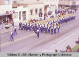 Band Day Parade 1981, Tioga High School band, Williston, N.D.