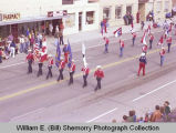 Band Day parade 1981, Williston Drum and Bugle Corps., Williston, N.D.