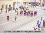 Band Day parade 1981, Minot Junior High School band, Williston, N.D.