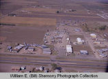 Williston aerial photograph, Mobile Home Court, N.D.