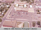 Family Thrift Center aerial photograph, Williston, N.D.