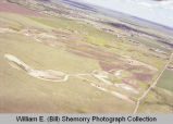 New golf course construction aerial photograph, Williston, N.D.