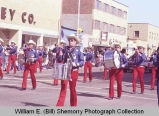 Band Day parade 1984, Drum and Bugle Corps., Williston, N.D.