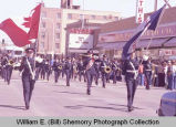 Band Day parade 1984, Regina Army Band, Williston, N.D.