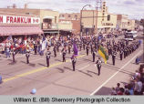 Band Day parade 1983, Regina Police Junior band, Williston, N.D.