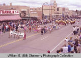 Band Day parade 1983, Marlyn's Dance School, Williston, N.D.