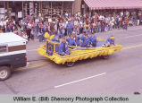 Band Day parade 1983, Special Olympics float, Williston, N.D.