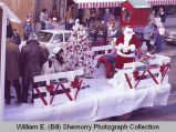 Williston Christmas parade 1983, Santa Claus float, N.D.