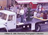 Williston Christmas parade 1983, Mode O Day float, N.D.