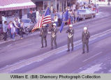 Williston Christmas parade 1983, National Guard, N.D.