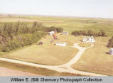Kraft farm aerial photograph, south of Stanley, N.D.