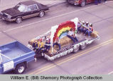 Upper Missouri Valley Fair 1983, 4-H float, Williston, N.D.
