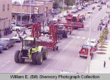 Upper Missouri Valley Fair 1983, farm equipment and tractors, Williston, N.D.