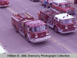 Upper Missouri Valley Fair 1983, Williston Fire Department engines, Williston, N.D.