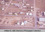 Horob Auto Sales and Service aerial photograph, Williston, N.D.