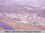 Williston aerial photograph, cityscape, N.D.