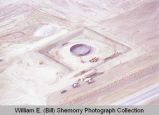 Water tank construction aerial view, Williston, N.D.