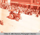 Tioga Oil Celebration Days parade, Rumely Oil Pull Tractor, Tioga, N.D.