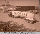 Tioga Oil Celebration Days parade, Wesco Gas tanker, Tioga, N.D.