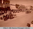 Williston oil and farm festival parade, tractors, N.D.