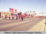 Band Day parade 1989, Drum and Bugle Corps., Williston, N.D.