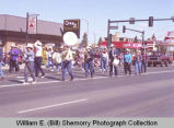 Band Day parade 1989, Epping Buffalo Trails Band, Williston, N.D.