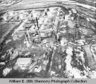 Westland Oil Company Refinery 1950s aerial photograph, Williston, N.D.