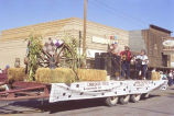 Alexander Old Settler's parade 1988, band on float, N.D.