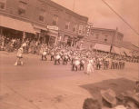 Band Day parade 1951, American Legion Drum & Bugle Corps., N.D.