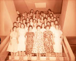 Band Day 1959, hostesses, Williston, N.D.