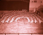 Band Day 1957, Williston Beginners Band, N.D.