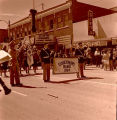 Band Day parade 1964, Williston High School Band Governors Band, N.D.