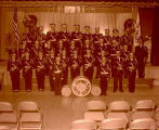 Epping School band, Epping, N.D.