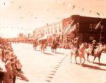 Williston's 75th Anniversary parade, Badlands Saddle Club, N.D.