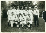 River Falls, Wisconsin, baseball team portrait