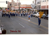 Tioga N.D. Oil Capital Band in parade in Williston, N.D.