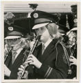 Band Day Parade 1966, Tioga clarinet players, Williston, N.D.