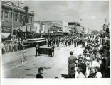Band Day Parade 1966, Ray School Band, Williston, N.D.
