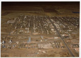 Aerial of Watford City, N.D.